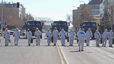 Photo of Улицы Нур-Султана продезинфицировали подразделения биозащиты ВС РК