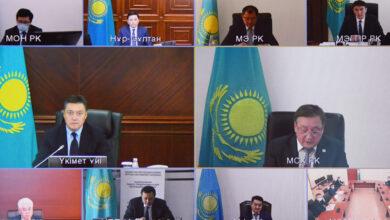 """Photo of Мамин """"Жасыл экономикаға"""" көшу жөніндегі кеңес отырысын өткізді"""