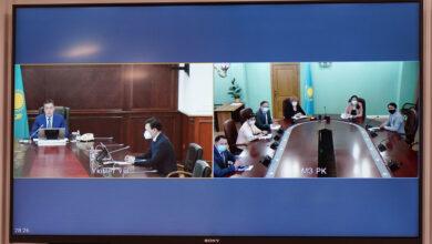 Photo of Аскар Мамин представил министра здравоохранения Алексея Цоя