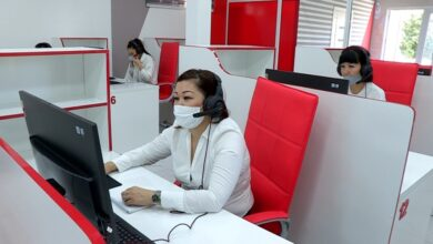 Photo of В Шымкенте открылся круглосуточный контакт-центр «iKomek»