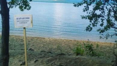 "Photo of Пляжи на территории нацпарка ""Бурабай"" закрыты"