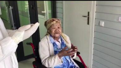 Photo of 87-летняя жительница Шымкента победила пневмонию