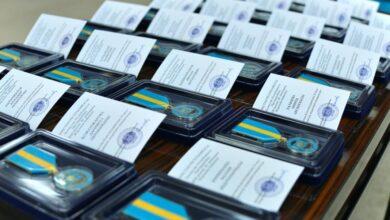 Photo of 25 шымкенцев наградили юбилейной медалью