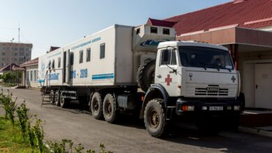 Photo of «Мобильные поликлиники» выехали в отдалённые районы Жамбылской области