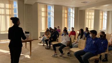 Photo of Прошла встреча представителей проектного офиса «Рухани жаңғыру» с волонтерами «Астана жастары»