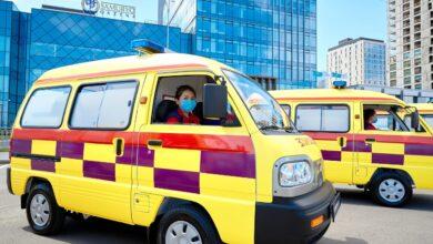 Photo of Жамбылский парк станции скорой медицинской помощи пополнился новыми автомобилями