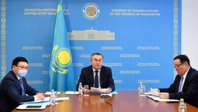 Photo of В МИД РК обсуждены вопросы подготовки докладов Казахстана в Комитет ООН по правам человека