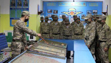 Photo of Будущие офицеры штурмуют водные преграды на бронетранспортерах