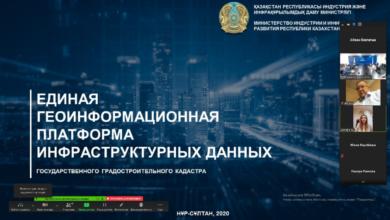 Photo of В МИИР РК проведено совещание о формировании государственного градостроительного кадастра