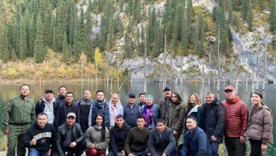 """Photo of В нацпарке """"Кольсайские озера"""" презентовали концепцию развития экотуризма"""