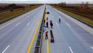 Photo of В Казахстане появилась «музыкальная дорога»