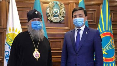 Photo of Митрополит Александр и аким Нур-Султана обсудили вопросы взаимодействия Астанайской епархии с исполнительными органами власти столицы