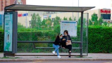 Photo of В Шымкенте ремонтируются автобусные остановки и строятся тротуары