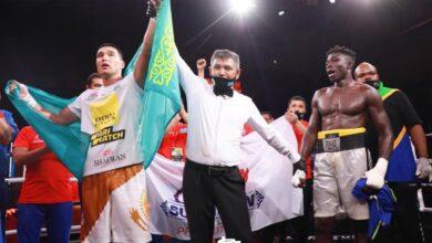 Photo of В Атырау состоялся вечер профессионального бокса посвященный юбилею Абая