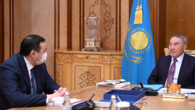 Photo of Елбасы принял председателя правления НПП РК «Атамекен» Аблая Мырзахметова