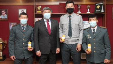 Photo of Спортсменам Центрального спортивного клуба присвоили первые офицерские звания
