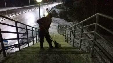 Photo of В Алматы выпало до 5 см снега