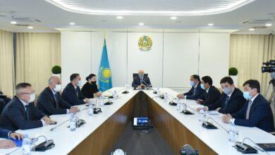 Photo of Члены Республиканского информационно-просветительского штаба встретились с активом Туркестанской области
