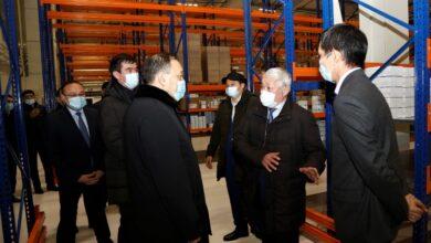 Photo of Вице-премьер проверил готовность Жамбылской области ко второй волне COVID-19