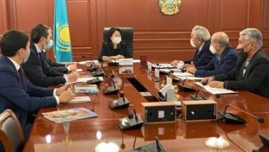Photo of Актоты Раимкулова встретилась с председателем правления общественного объединения «Кансонар»