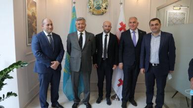 Photo of Почетное консульство Казахстана открыли в Рустави