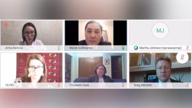 Photo of Прошло третье заседание Казахстанско-американской рабочей экспертной группы по вопросам свободы вероисповедания